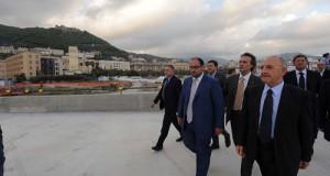 Inaugurazione cantiere di piazza della Libertà