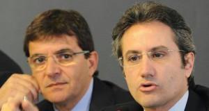 Nicola Cosentino e Stefano caldoro