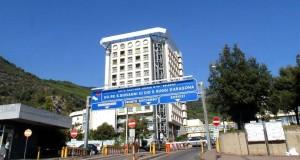 L'ospedale di Salerno