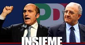 Cozzolino e De Luca (foto di julienews,it)