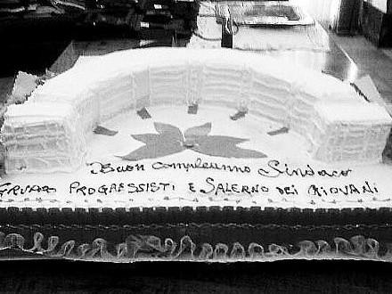 La torta a forma di Crescent