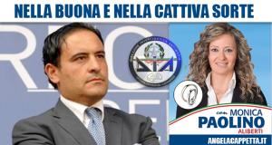 Pasquale Aliberti e Monica Paolino