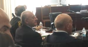 De Luca in tribunale a Salerno